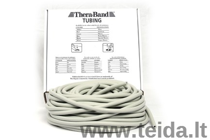 Thera-band apvali elastinė juosta, sidabro
