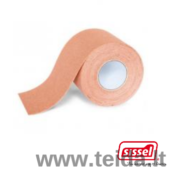 SISSEL® kineziologinis teipas, 5 cm x 5 m, kūno spalvos