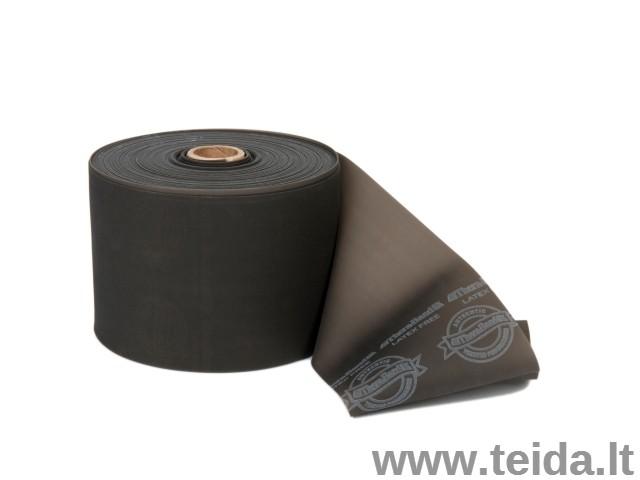 Thera-Band elastinė juosta be latekso, juoda