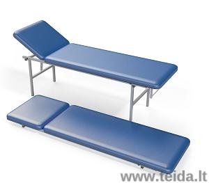 Procedūrinė lova sulankstomomis kojomis