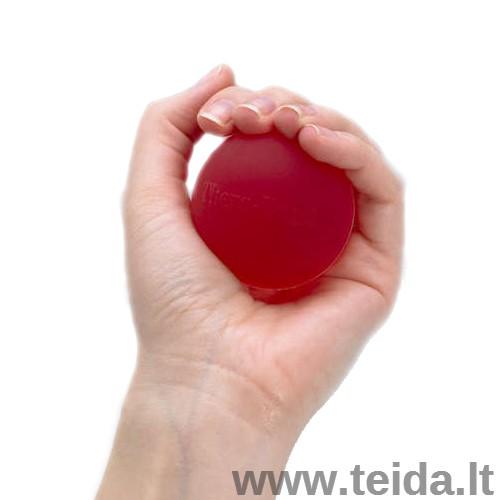 THERA-BAND mankštos kamuoliukas, raudonas