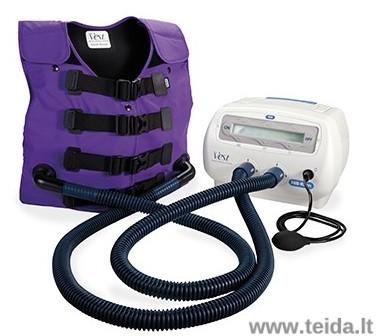 Hill-rom kvėpavimo takų išvalymo sistema The VEST 105