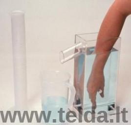 Tūrinė plaštakos edemos matuoklė
