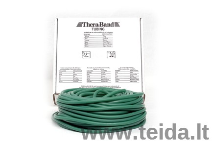 Thera-band apvali elastinė juosta, žalia