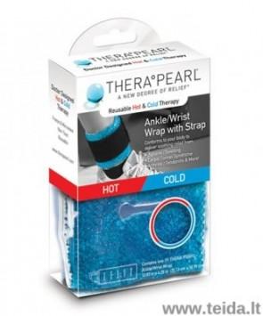 TheraPearl čiurnos/riešo karščio-šalčio terapijos kompresas su užsegamu dirželiu