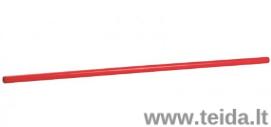 Plastikinė lazdelė mankštai, 1,3 m ilgio, įvairių spalvų