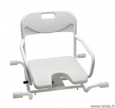 Pasukama vonios kėdutė
