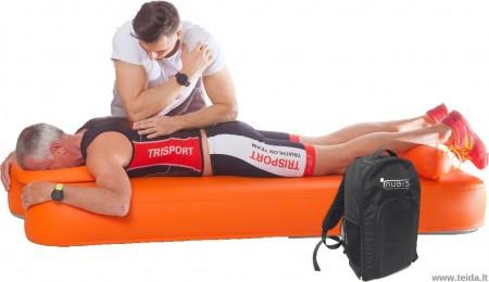 Nubis Sport pripučiamas masažo ir terapijos čiužinys