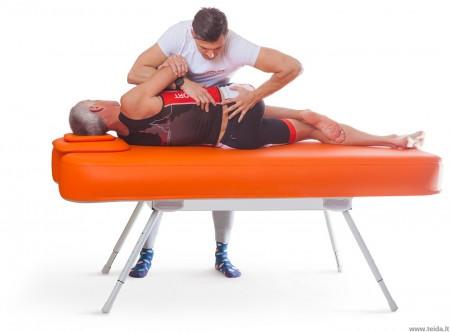 Nubis Pro pripučiamas masažo ir terapijos stalas