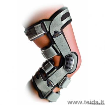 DonJoy kelio osteoartrito įtvaras ADJUSTER 3, išorinis, kairei kojai, S dydis