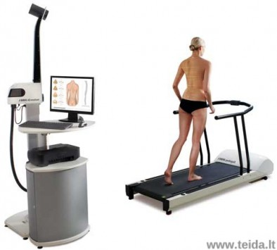 DIERS 4D motion laikysenos ir judėjimo diagnostinė sistema