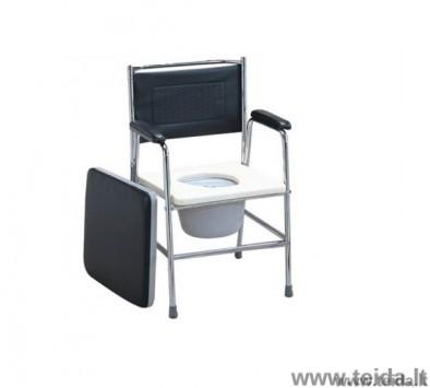 Tualeto kėdė juoda