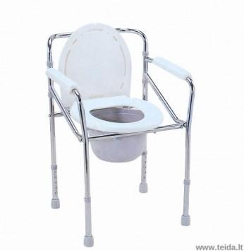 Sulankstoma tualeto kėdė CA616