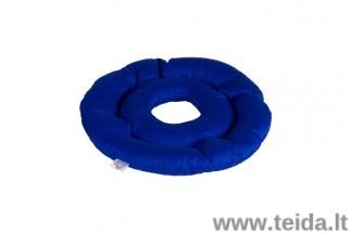 Grikių lukštų pagalvė dubens srities pragulų profilaktikai / su higieniniu užvalkalu