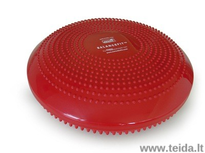 SISSEL® Balance Fit pusiausvyros pagalvėlė, raudona