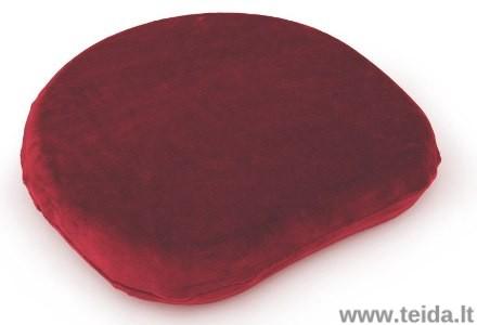 Užvalkalas SISSEL® SitFit Plus sėdėjimo pagalvėlei, bordo