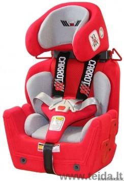 Vaikiška automobilinė kėdutė Carrot 3 S dydis