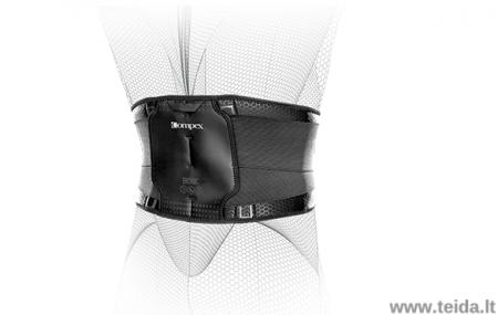 COMPEX nugaros įtvaras Bionic Back, XL dydis