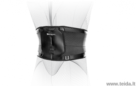COMPEX nugaros įtvaras Bionic Back, M dydis