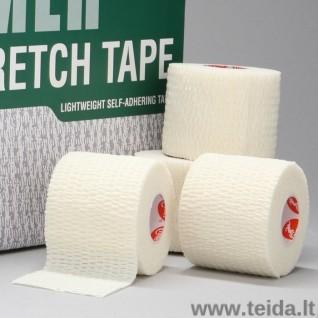 CRAMER elastinis tvarstis Eco-Flex, baltas, 5 cm x 5,5 m