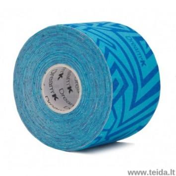 Dream®K Tribe kineziologinis teipas, mėlynas/tamsiai mėlynas (raštuotas)