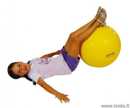 Gymnic Classic kamuolys 45 geltonas