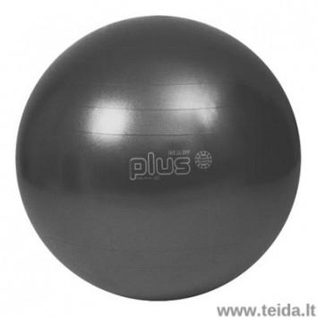 Gymnic Plus kamuolys 65 juodas