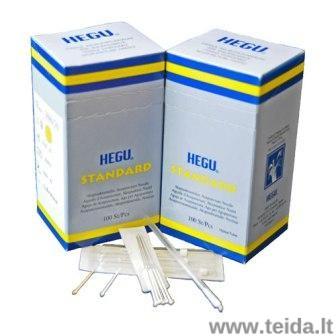 Akupunktūros adatos HEGU Standard, 0,25 x 30 mm