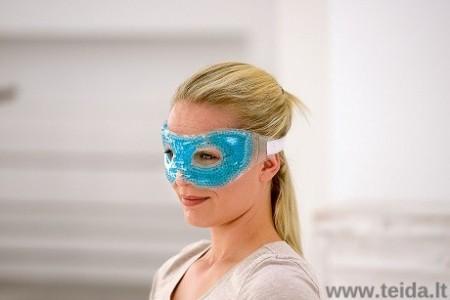SISSEL® šildanti-šaldanti perlinio gelio kaukė akims