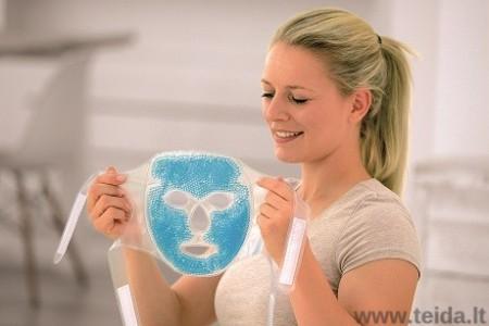SISSEL ® šildanti-šaldanti perlinio gelio kaukė veidui
