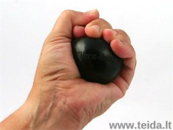 THERA-BAND mankštos kamuoliukas, juodas