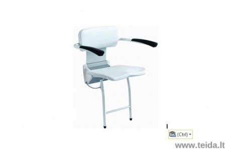 Atlenkiama dušo kėdė su porankiais R8804-60