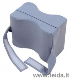 Kojas skirianti pagalvėlė su fiksuojančiais dirželiais