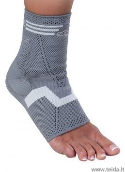 Tekstilinis čiurnos įtvaras Malolax su silikoniniu paminkštinimu, XL dydis