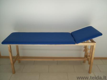 Medinis 2-jų dalių masažo (terapinis) stalas