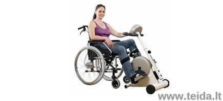 Terapinio kojų treniruoklio, mod. VIVA 2 su rankena pasilaikymui nuoma