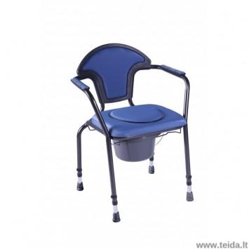 Reguliuojamo aukščio tualeto kėdė