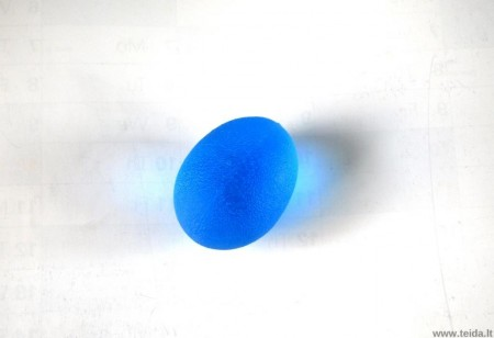 SISSEL® kiaušinio formos treniruoklis plaštakai, mėlynas