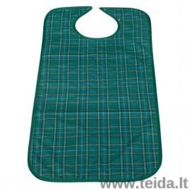 Daugkartinė prijuostė, 45 x 90 cm, žalia