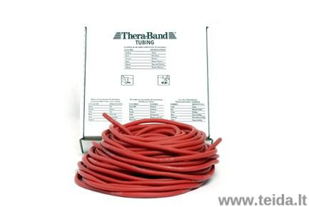 Thera-band apvali elastinė juosta, raudona