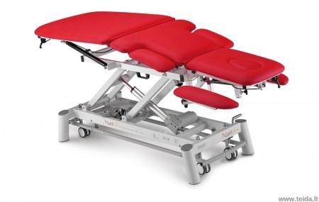 Elektrinis 7-ių dalių masažo (terapinis) stalas Rose