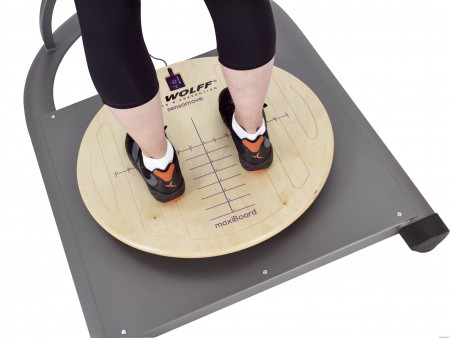 Kūno laikysenos stabilumo vertinimo ir treniravimo sistema Balance-check