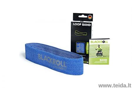 Guma-kilpa Blackroll®, mėlyna