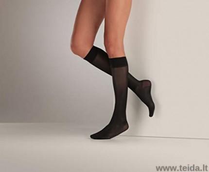 Moteriškos kompresinės kojinės, juodos spalvos, dydis S/M