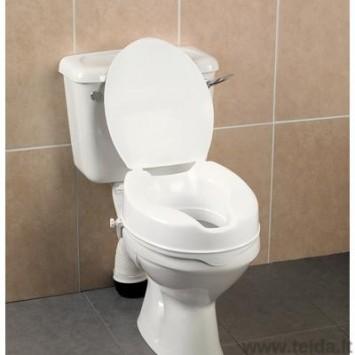 Paaukština tualeto sėdynė Savanah su dangčiu
