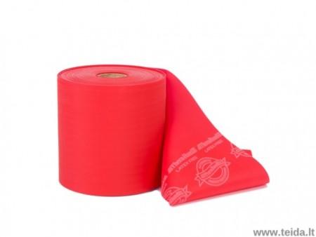 Thera-Band elastinė juosta be latekso, raudona
