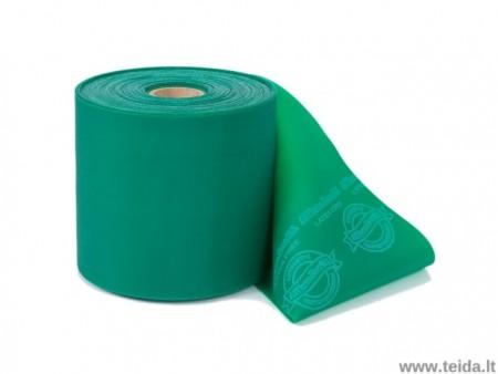 Thera-Band elastinė juosta be latekso, žalia