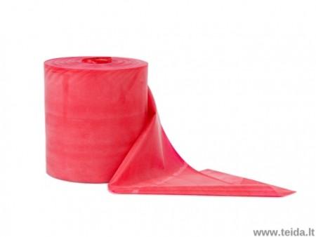 Thera-band elastinė juosta su lateksu, raudona