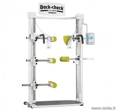 Skaitmeninis izometrinės raumenų jėgos dinamometras Back-check compact 608