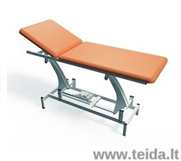 Elektrinis dviejų dalių terapinis stalas
